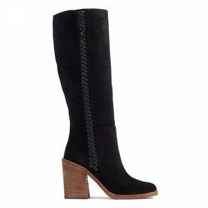 Ugg Women's Maeva Suede Boot Black Size 9.5